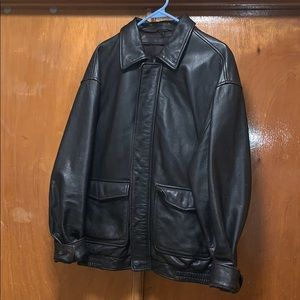 Men's Jos. A. Bank genuine leather jacket